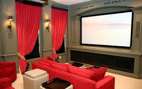 home theater basement music theme wall poster glass coffee table basement home theater
