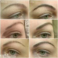 beautiful semi permanent brows tattooed by tamara bonnar