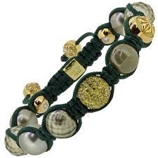 yellow pearl bracelet images 18ct yellow gold light green diamond grey diamond tahiti pearl jpg