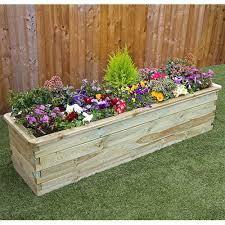 wooden planters internet gardener