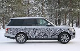 land rover hse 2016 spyshots 2017 range rover facelift undergoes winter testing