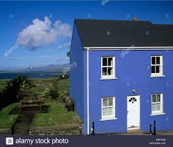 This Small House by Eyeries County Cork Republic Of Ireland Eu September A Blue House