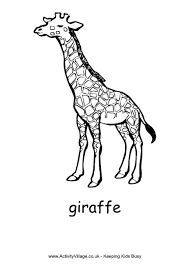 Giraffe Coloring Pages Giraffe Colouring Page by Giraffe Coloring Pages