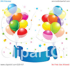 royalty free rf clipart illustration of bundles of party