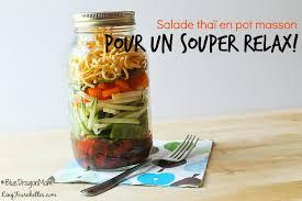 cuisine en pot j cinq fourchettes etc salade thaï en pot masson bluedragon