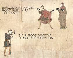 Bayeux Tapestry Meme - old tapestry meme bayeux tapestry pinterest tapestry and meme