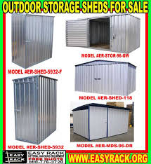 Outdoor Metal Building & Storage Shed Kits Sale Now