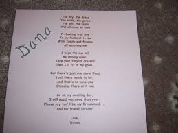 asking bridesmaids poems brides helping brides bridesmaid poems liweddings