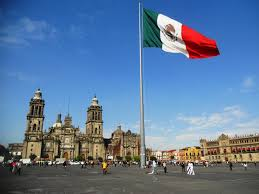 silly iberians the mexican flag at zócalo laughs at you