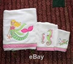 Pottery Barn Kids Mermaid Shower Curtain Barn Kids Mermaid Bath Towel Shower Curtain Bath Mat 5pc