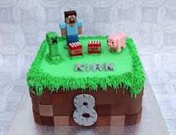 mine craft cakes minecraft birthday cake personalised cakes for birthdays