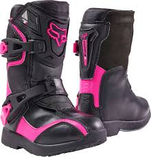 motocross boots size 7 fox racing 2017 comp 5k peewee youth mx boots kids size 10 pink