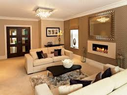 Paint Color Ideas For Living Room With Brown Furniture Neutral Living Room With Blue Accents Paint Colors For Family Room