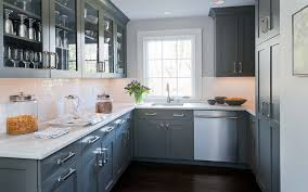 gray and white kitchen cabinets grey kitchen cabinets with white counter tops kutskokitchen