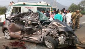 three youths killed two injured after car collides with tempo on