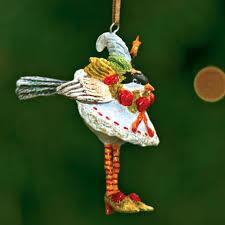 patience brewster mini chickadee ornament
