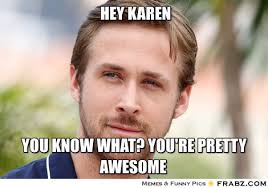 Karen Meme - what s in a meme karen soutar