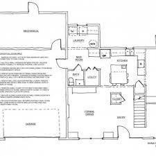 U Shaped Kitchen Floor Plans by Interior Simple Design Awesome Rectangular Kitchen Floor Plan