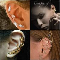 ear wraps and cuffs earcatchers collection ear cuff exclusive earware