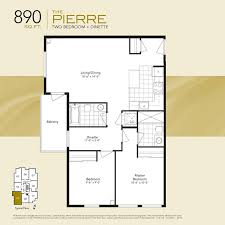 2 Bedroom Condo Floor Plan Spacious 2 Bedroom Admiral Towers Toronto Condo Floor Plan Kat