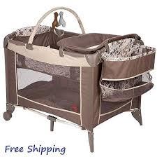 pack and play yard portable baby crib playpen playyard bassinet