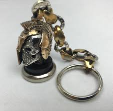 unique keychain spartan keychain unique in design the ultimate collectible or gift