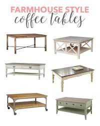 Affordable Coffee Tables Farmhouse Style Coffee Tables A Filled Home Diy Home