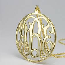 cheap monogram necklace online get cheap monogram necklace custom aliexpress