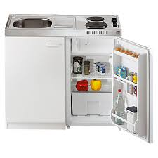 miniküche respekta miniküche pantry100 breite 100 cm mit duo kochmulde