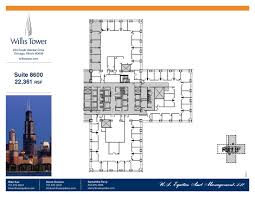chicago floor plans sears tower blueprints home willis suite house