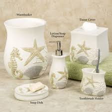Seashell Bathroom Decor Ideas by Bathroom Sets With Shower Curtain Bathroom Decor