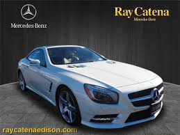 mercedes sl class 2014 pre owned 2014 mercedes sl sl 550 coup rdst in edison p74423
