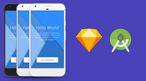 splash screen in sketch app and android studio xml tutorial youtube