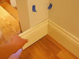 trim baseboard installing baseboard with coped cuts at inside corners