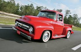Vintage Ford Truck Steel Wheels - 1956 ford f 100 in the red rod network