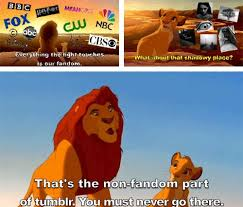 The Lion King Meme - never go to the non fandom side the lion king know your meme