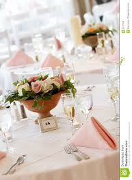 Fine Dining Table Set Up by Fine Dining Table Setting Fine Dining Table Decorated With Flowers