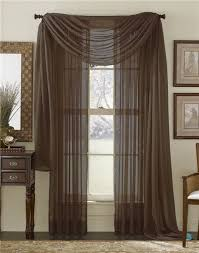 Solid Color Curtains 20 Best Solid Color Voile Sheer Valance Panels Images On Pinterest