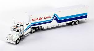 model trucks kenworth trucks n stuff ho sp026 kenworth w900l sleeper cab with 53 u0027 moving
