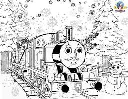 137 tv serie images thomas train coloring