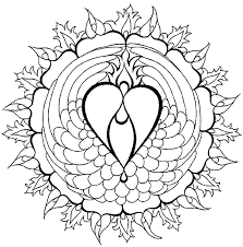 printable art coloring pages mandala coloring pages 2