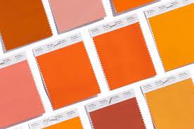 shades of orange names graphics orange radiant and fun loving