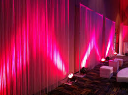 party rental orlando pink uplighting orlando corporate event decor design
