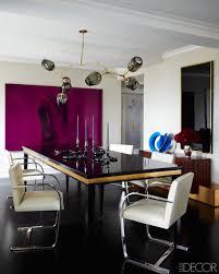 Purple Dining Rooms Dramatic Dining Rooms 30 Beautiful Elegant Ideas