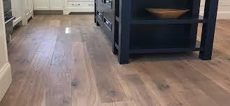 wide plank oak copley featuring a matte floor finish