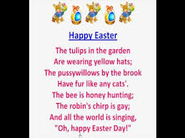 free easter poems happy easter poems 2018 for kids