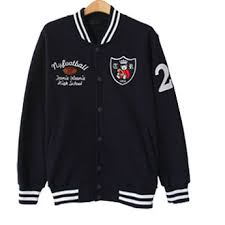 cheapest online high school ny high school number 21 baseball jacket color navy sale at http