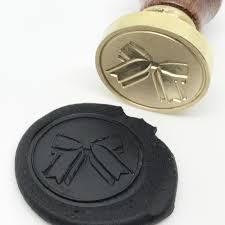 Seal Ribbon Ribbon Bow Gift Wax Seal Stamp Xmas Gift