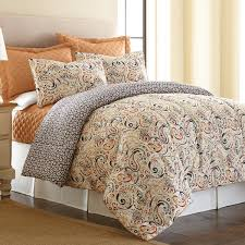 What Is The Difference Between A Coverlet And A Comforter Amraupur Overseas Mavia Reversible 6 Piece Comforter Set With