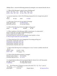 chem 16 review question 3rd long exam answer key 1 solution